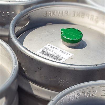 Labelling Kegs
