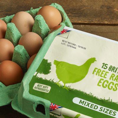 Printing On Egg Boxes
